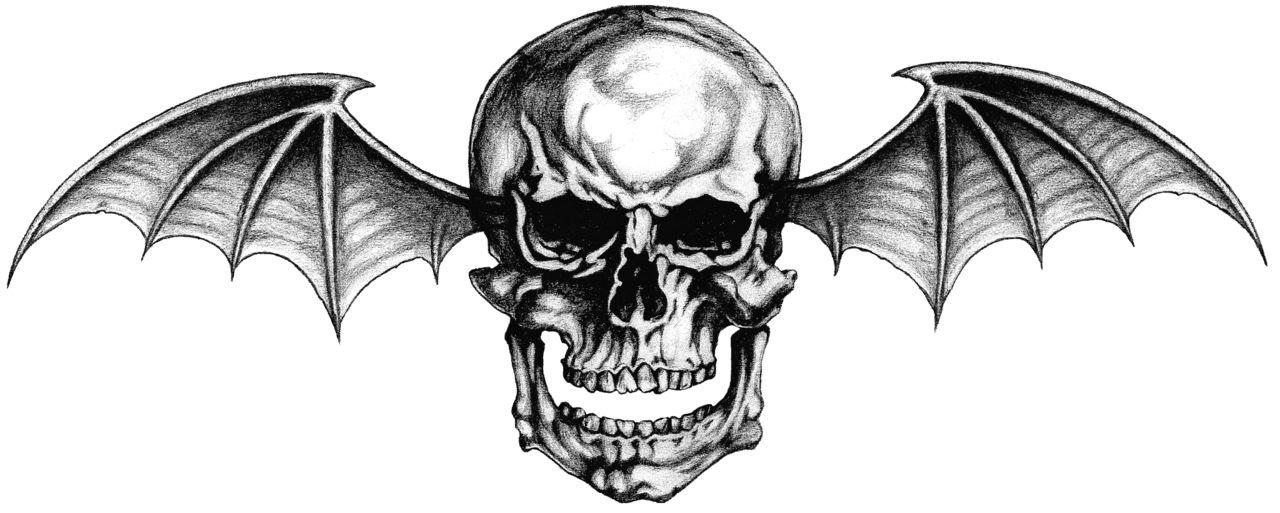 Avenged sevenfold skull clipart