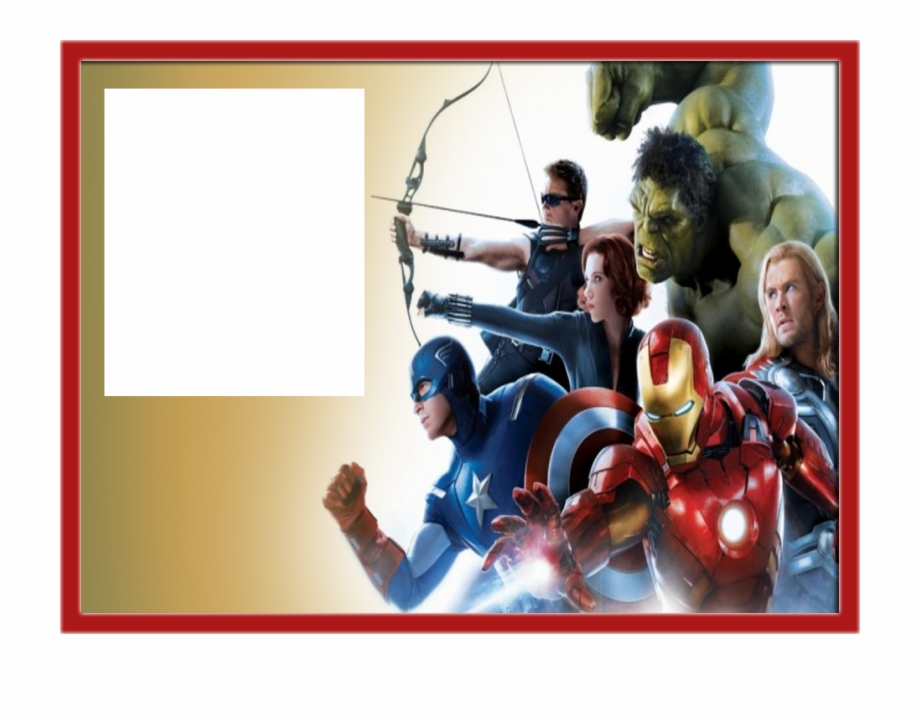 Avengers birthday 4 clipart graphic library download Avenger Birthday Invitation Templates Free PNG Images & Clipart ... graphic library download
