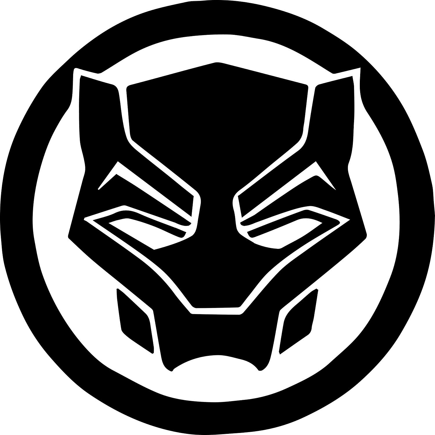 Library of avengers black panther logo image transparent ...