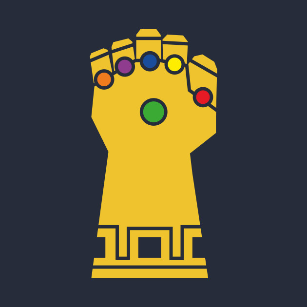 Avengers gauntlet logo clipart