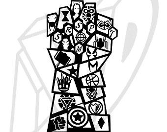 Avengers gauntlet logo clipart clip art library library Infinity war gauntlet avengers clipart 1 » Clipart Station clip art library library