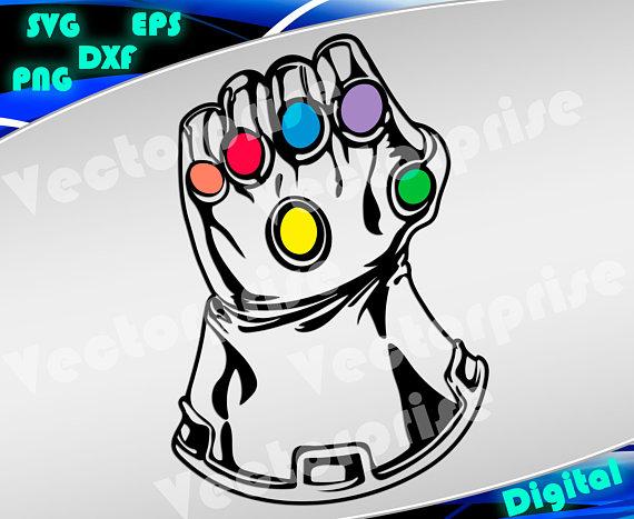 Avengers gauntlet logo clipart clipart royalty free download Avengers svg Infinity War svg Thanos svg Gauntlet svg silhouette ... clipart royalty free download
