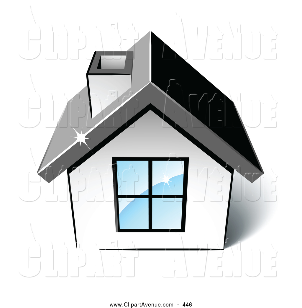House with chimney and vine clipart black and white clip freeuse library Avenue Clipart of a Little | Clipart Panda - Free Clipart Images clip freeuse library