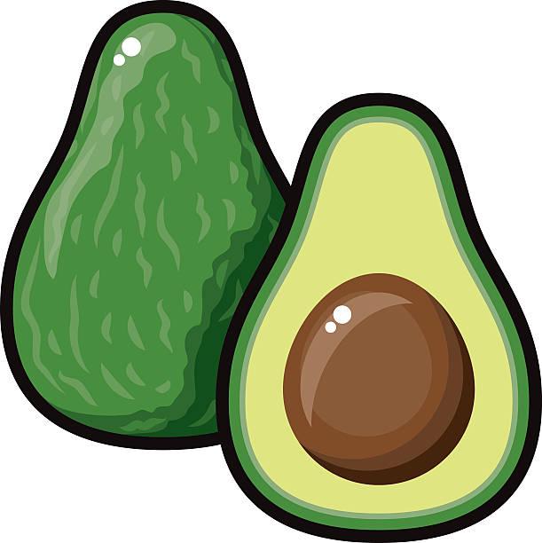 Avicado clipart graphic transparent Clipart avocado 5 » Clipart Station graphic transparent