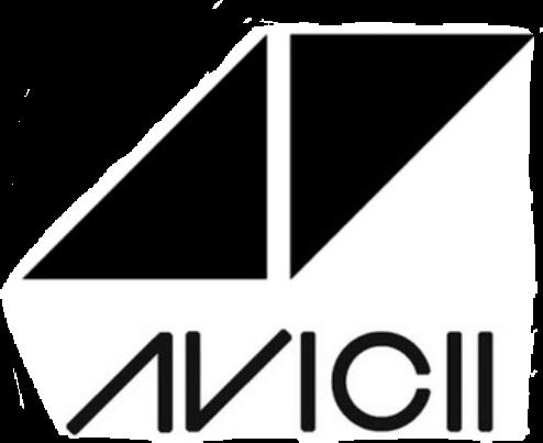 Avicii logo clipart vector freeuse library avicii - Sticker by prinsliam589 vector freeuse library