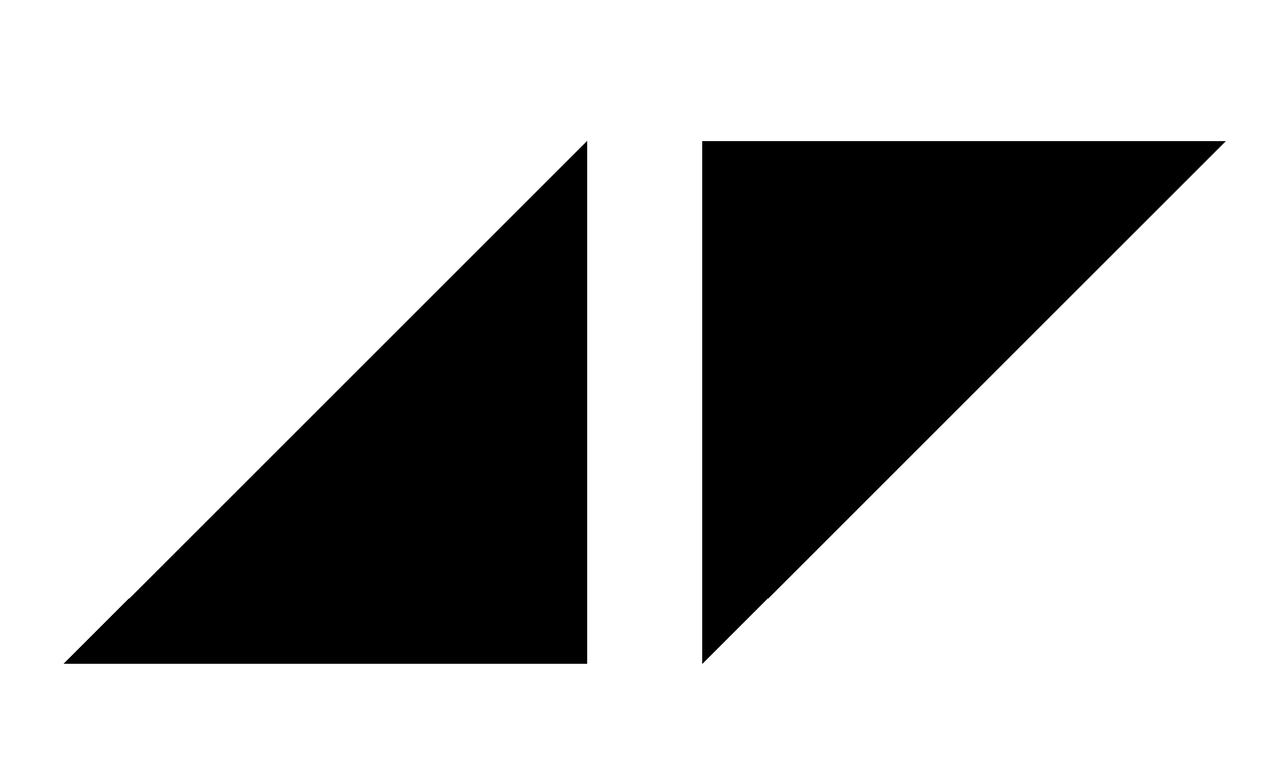 Avicii logo clipart clip art black and white stock Avicii Logos clip art black and white stock