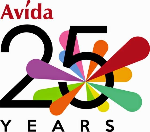 AVIDA KICKS OFF 25TH YEAR CELEBRATION WITH NEW, MULTI-VIGNETTE TVC ... banner black and white stock