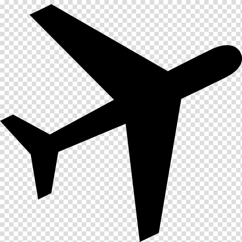Avion clipart black and white image royalty free library Plane illustration, Airplane Computer Icons , avion transparent ... image royalty free library