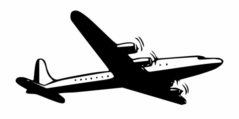 Avion clipart black and white graphic royalty free library Airplane Silhouette Clip Art N11 - Clip Art Avion Free PNG Images ... graphic royalty free library