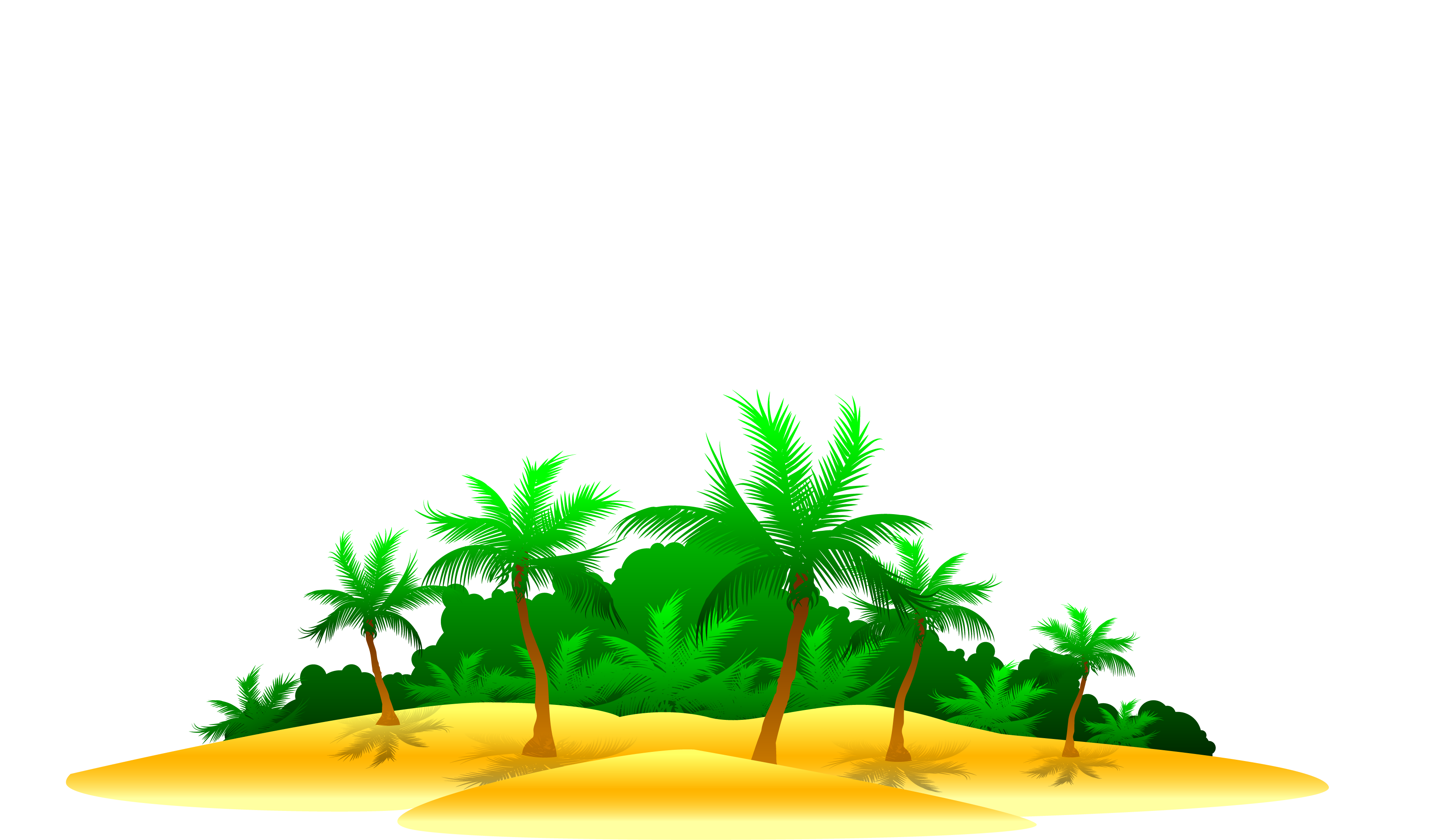 Seawater Ocean Clip art - Beach map of coconut trees next to the ... graphic