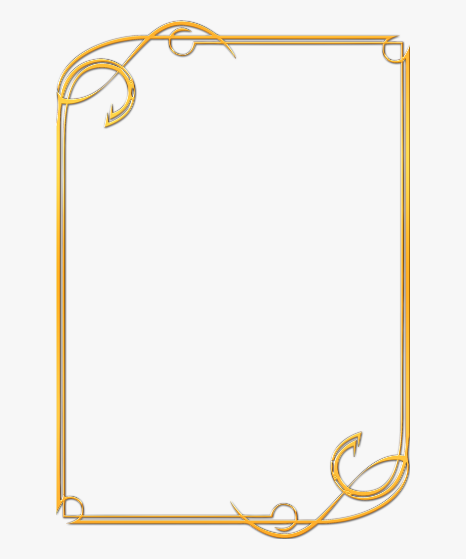 Award certificate border clipart clipart black and white library Gold Award Certificate Border Clipart , Png Download - Elegant Word ... clipart black and white library