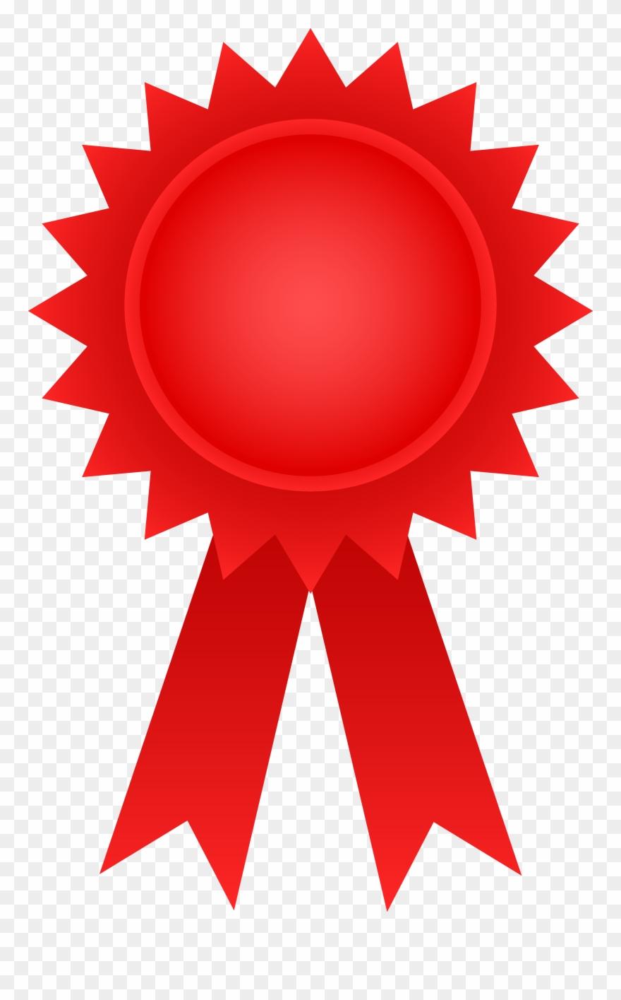 Award ribbon clipart clipart transparent Red Award Ribbon - Award Ribbon Clipart - Png Download (#11479 ... clipart transparent