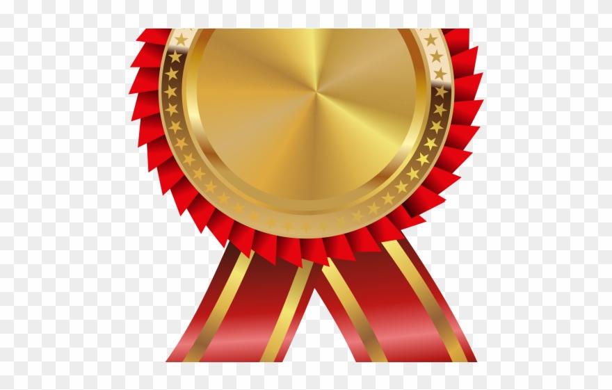 Award ribbon clipart vector free Medal Clipart 1st Place Medal - Gold Award Ribbon Png Transparent ... vector free
