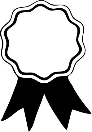 Award ribbon clipart black and white png transparent Award Ribbon PNG Black And White Transparent Award Ribbon Black And ... png transparent