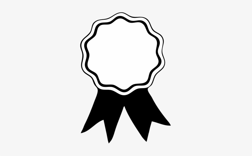 Ribbon template clipart jpg library Certificate Clipart Black And White - Award Ribbon Template - Free ... jpg library