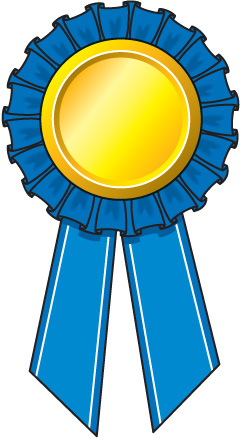 Award ribbon clipart png clipart transparent library Prize Ribbon Clipart - Clipart Kid clipart transparent library