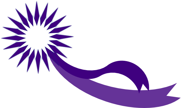 Award ribbon clipart png picture black and white stock Purple Award Ribbon Clip Art at Clker.com - vector clip art online ... picture black and white stock