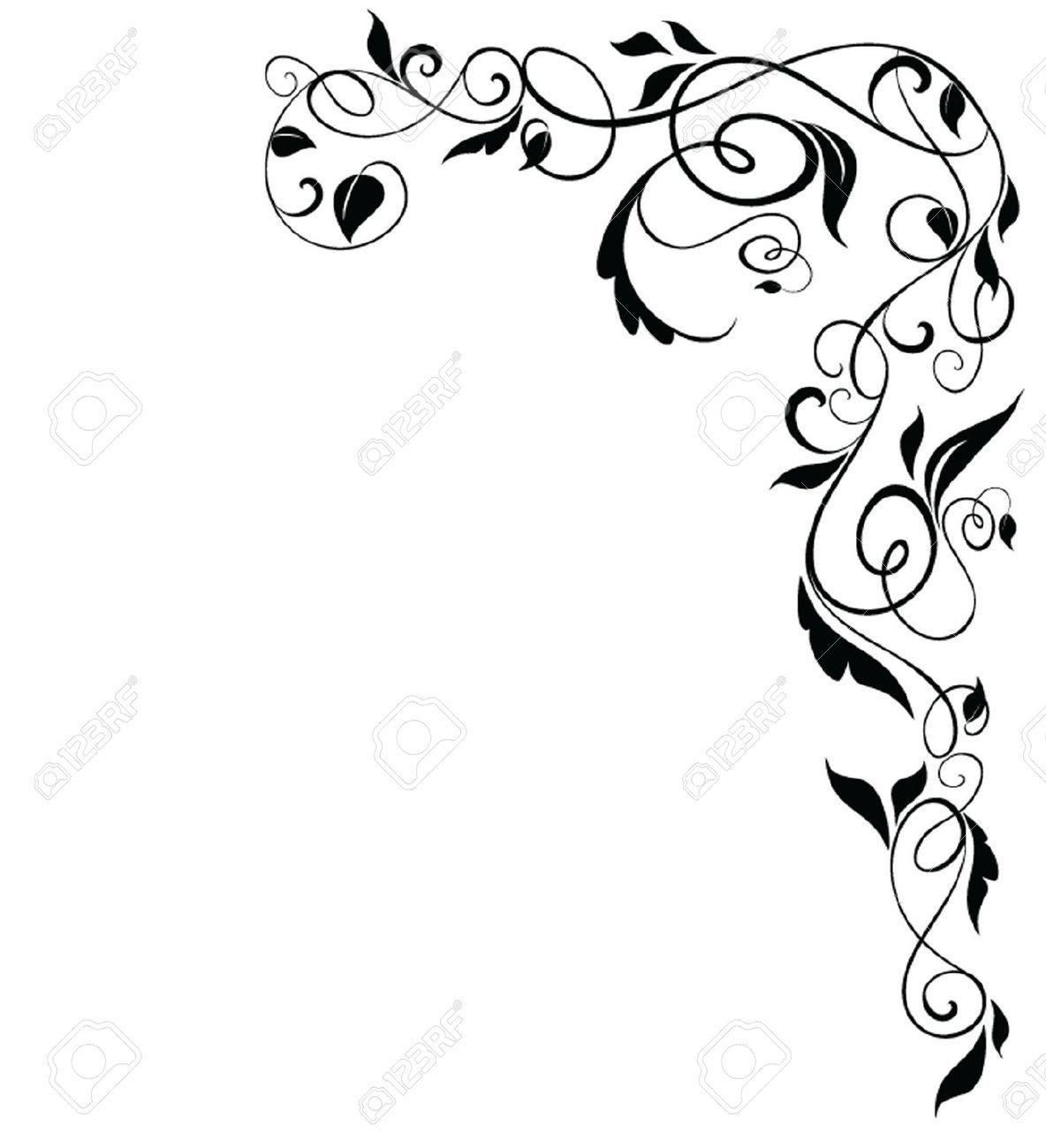 Award scroll corners clipart image royalty free download decorative corner scrolls - Google Search | Iron & Scroll Work ... image royalty free download
