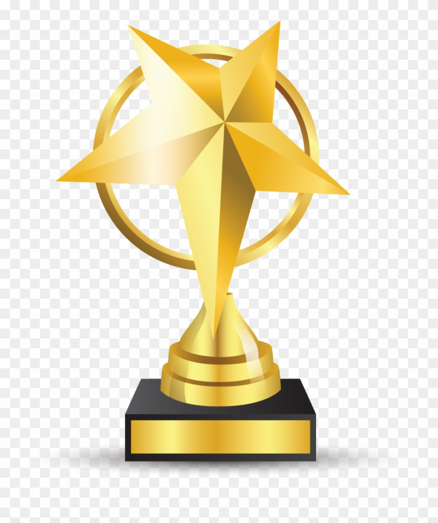 Award trophy clipart vector free download Clipart Books Trophy - Awards Trophy Png Transparent Png (#816009 ... vector free download