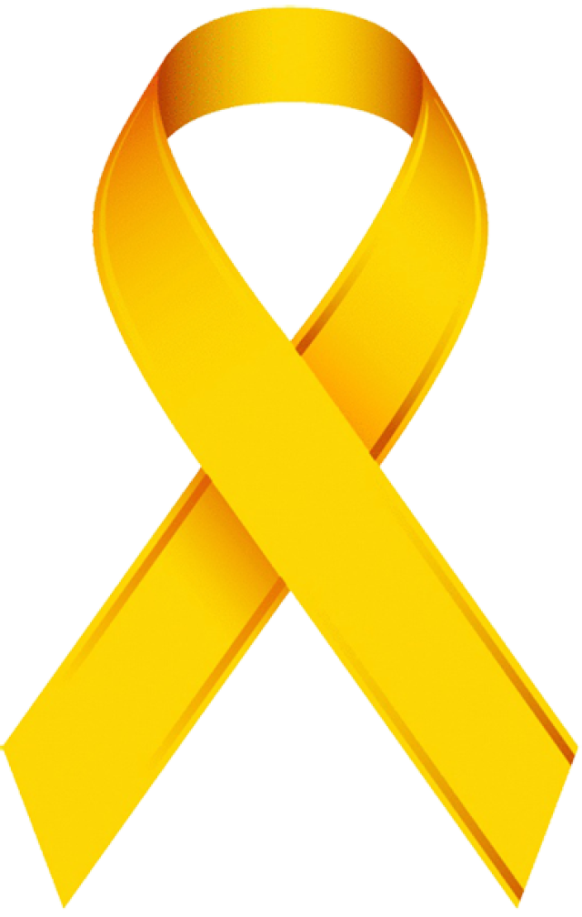 Awareness ribbon with crown clipart image black and white download Clip Art Of A Childhood Cancer Awareness Ribbon | Pinterest ... image black and white download