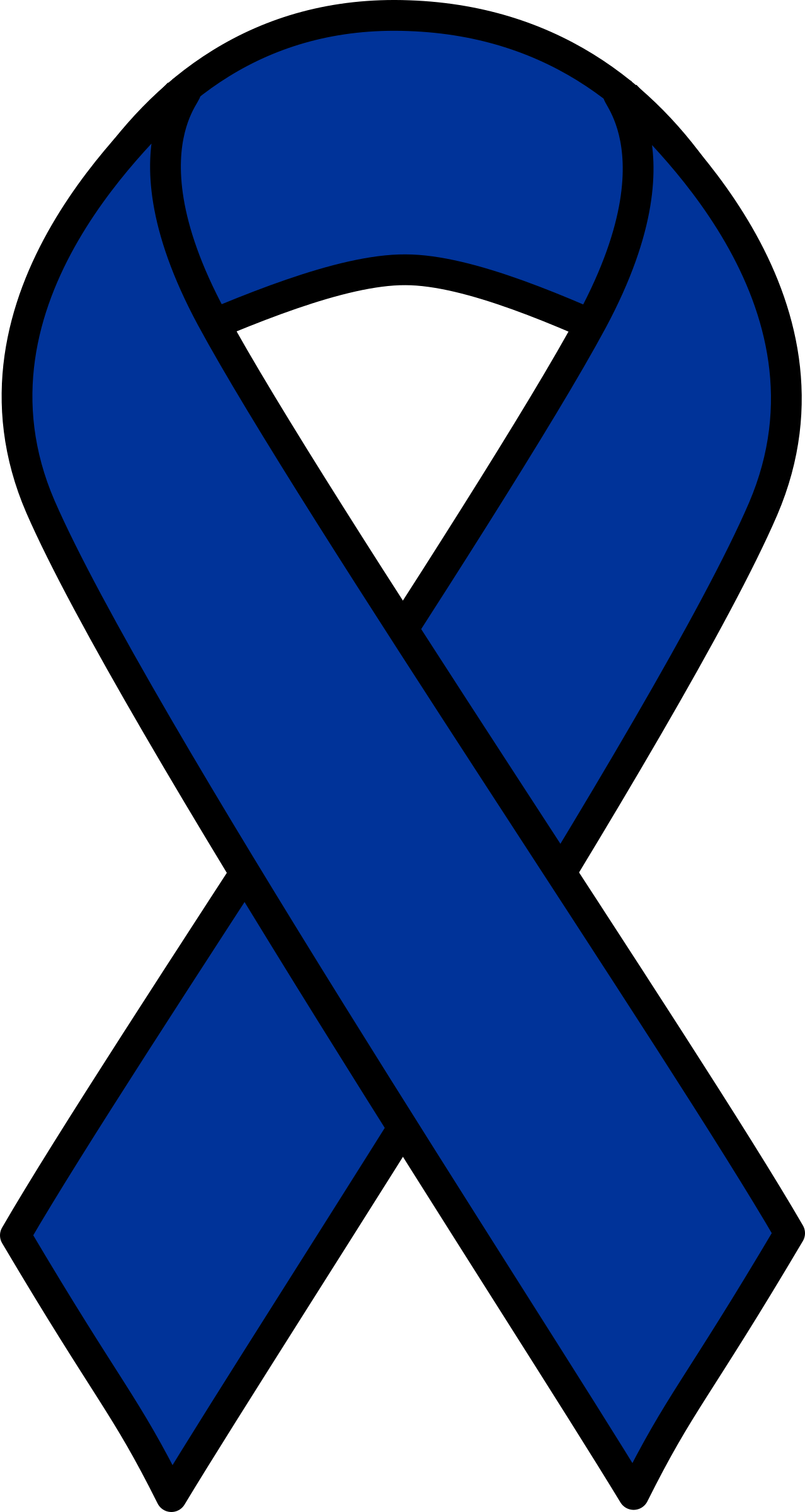 Awareness ribbon with crown clipart clipart freeuse stock 28+ Collection of Blue Ribbon Clipart Black And White | High quality ... clipart freeuse stock