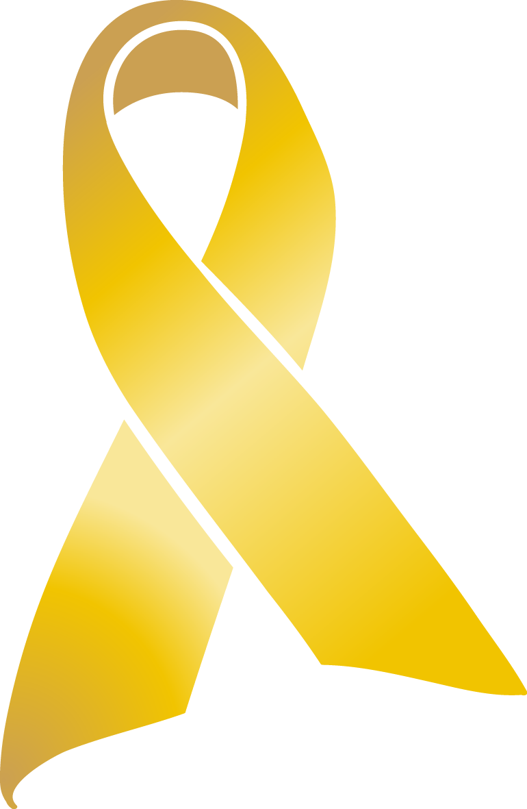 Awareness ribbon with crown clipart clipart freeuse download gold cancer ribbon clip art 8izkyllip - Clip Art. Net clipart freeuse download