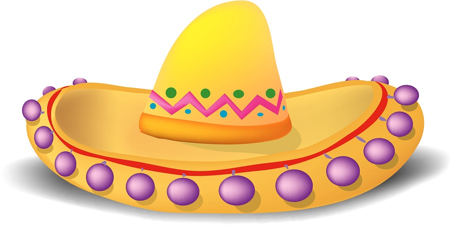 Spanish clipart flag and sombrero clipart free stock Sombrero Cliparts - Cliparts Zone clipart free stock