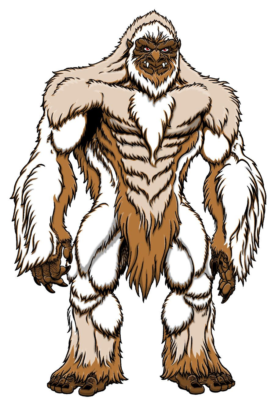 Awsome bigfoot clipart clip royalty free stock Love this cool Bigfoot, or maybe Yeti art. | Bigfoot Art work ... clip royalty free stock