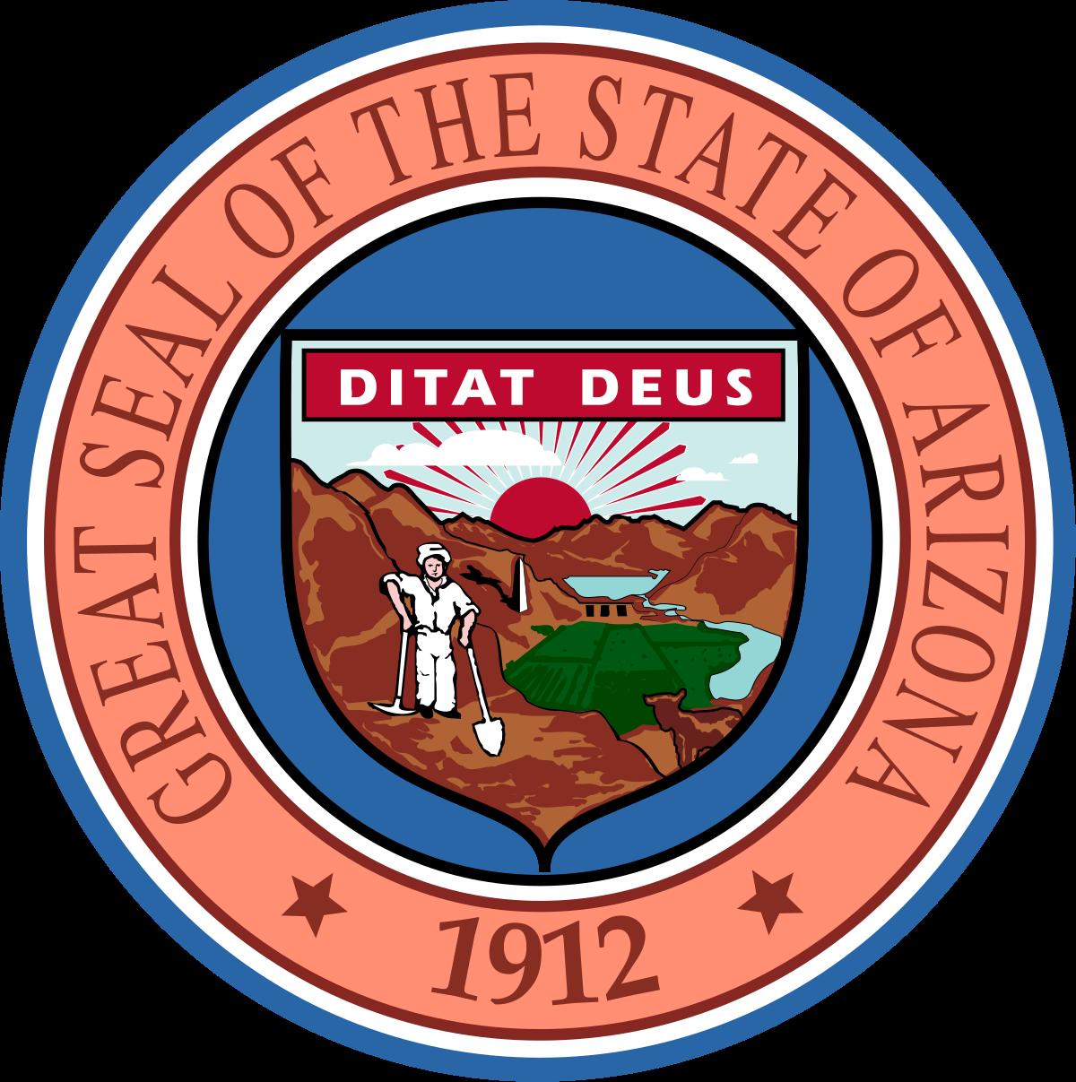 Az find logo clipart banner black and white download Arizona House of Representatives - Wikipedia banner black and white download