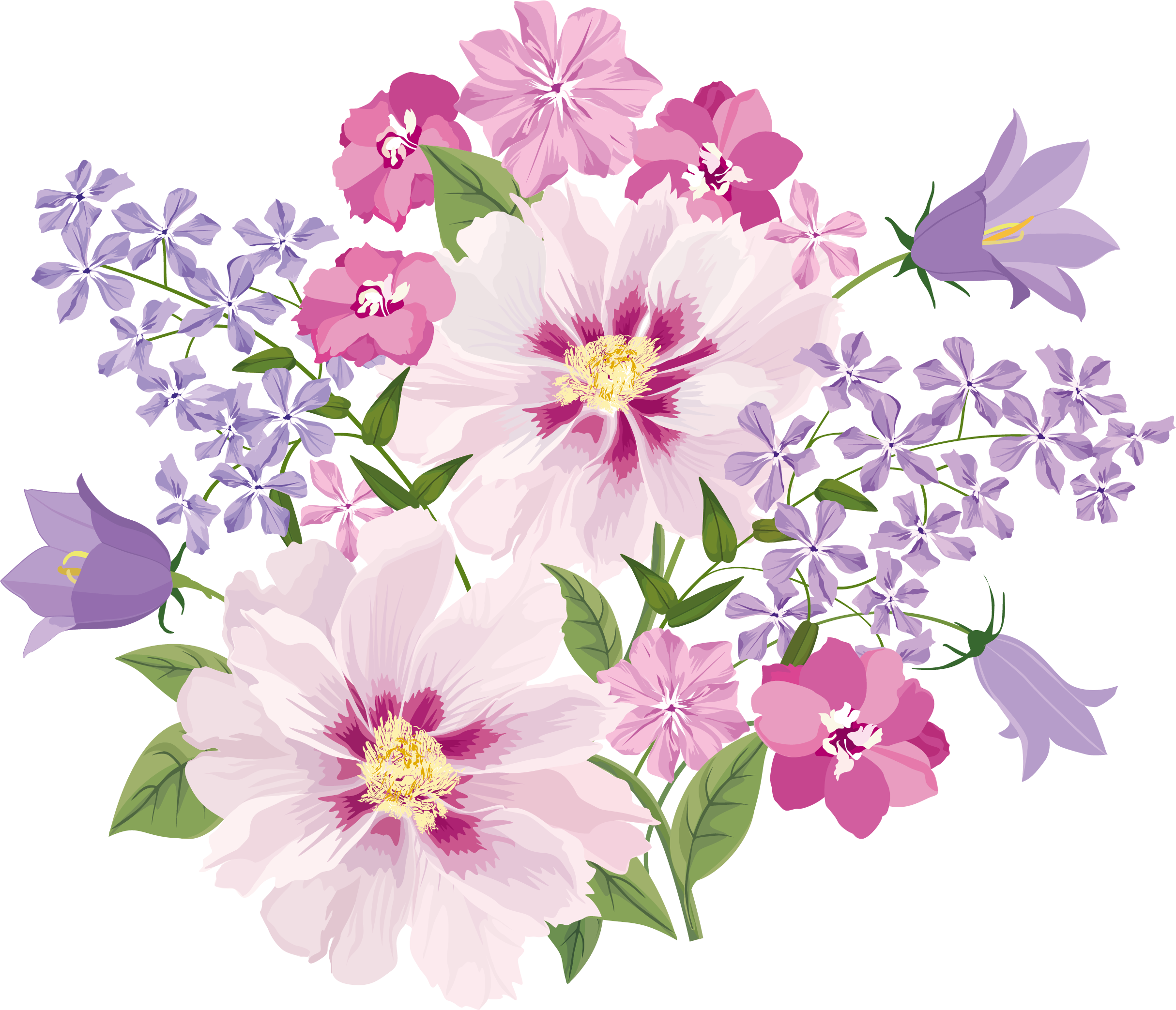 Flower blooming clipart png library library freedesignfile.com / Flowers | Decoupage Flowers | Pinterest ... png library library