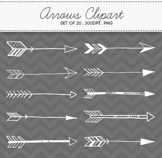 Aztec arrow circle clipart freeuse download Doodle Tribal Aztec Arrow Divider Hand Drawn Clipart Vector EPS ... freeuse download