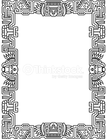Aztec border clipart png freeuse library Aztec clipart border png freeuse library