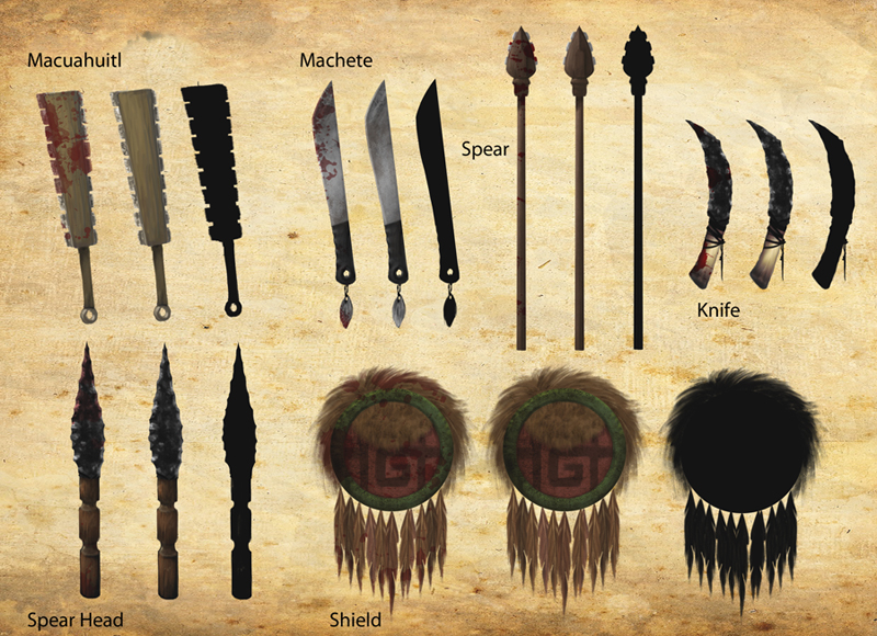 Aztec clipart tools graphic stock Free Aztec Clipart sword, Download Free Clip Art on Owips.com graphic stock