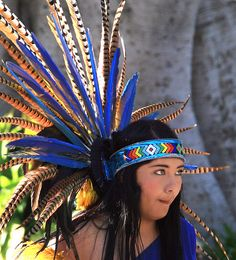 Aztec dancers head piece clipart picture 29 Best Aztec headdress images | Fascinators, Costumes, Headdress picture
