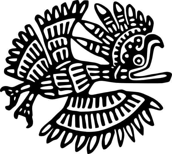 Aztec turkey clipart clip art royalty free download Ancient Mexico Motif Clip Art at Clker.com - vector clip art online ... clip art royalty free download
