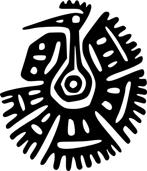 ancient birds of symbolism | Ancient Mexico Motif clip art | Ancient ... stock