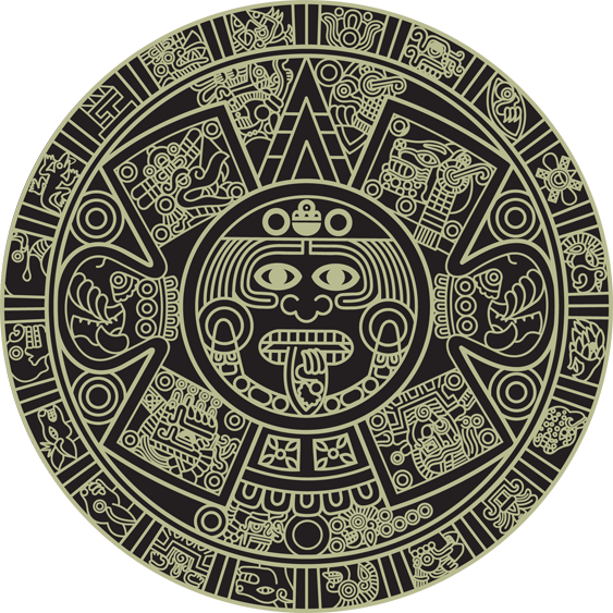 Aztec Calendar | Pinterest | Aztec art, Aztec calendar and Aztec svg freeuse stock