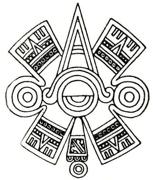 Aztec glyphs clipart image transparent Imgs For > Aztec Symbols Strength Clipart   Ink   Mayan tattoos ... image transparent