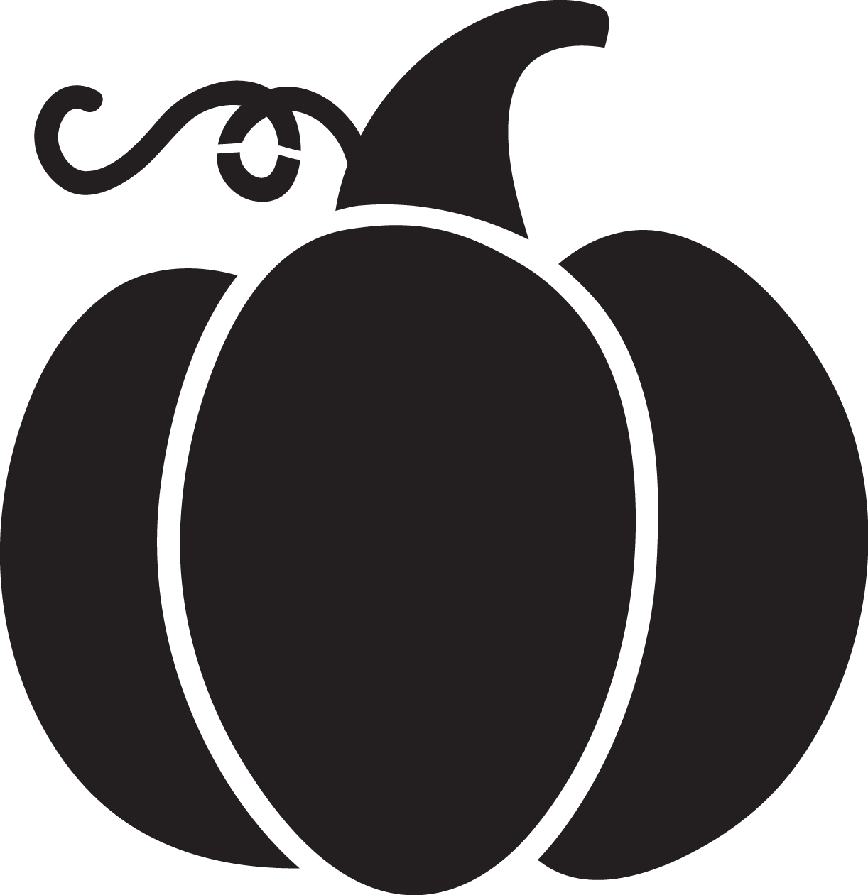 Aztec pumpkin monogram clipart png freeuse download Pumpkin Silhouette at GetDrawings.com | Free for personal use ... png freeuse download