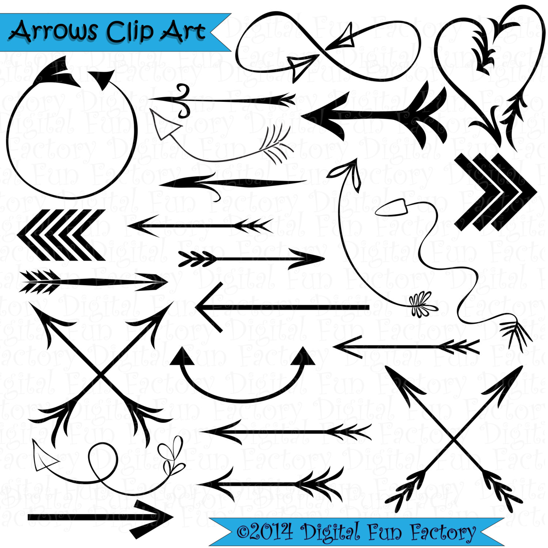 Aztec tribal arrow clipart vector library stock Tribal Arrow Clipart - Clipart Kid vector library stock
