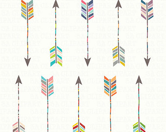 Aztec tribal arrow clipart svg free Items similar to Tribal Arrow Clipart, Instant Download on Etsy svg free