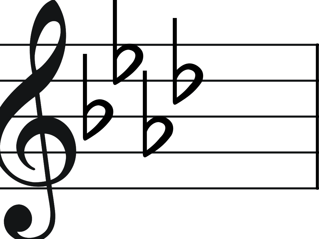 B flat note clipart image freeuse stock What Is a Double Flat in Musical Terms? image freeuse stock