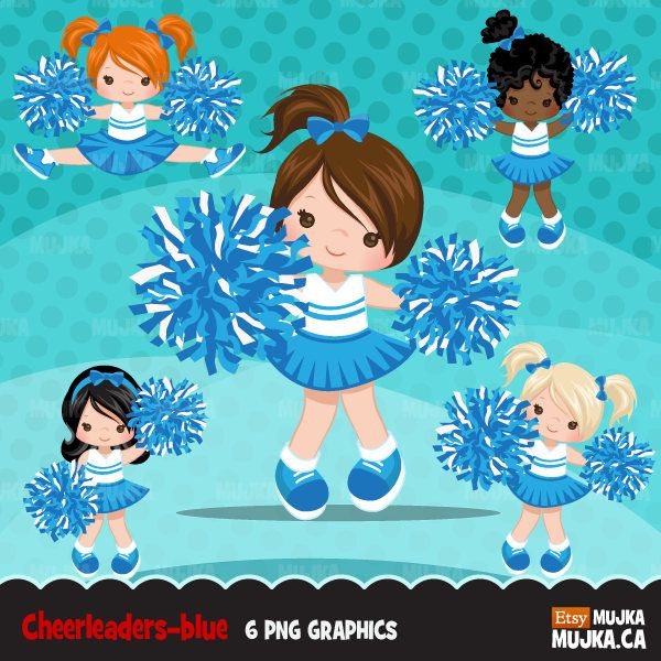 B ue and white cheerleader animated clipart image free stock Cheerleader Clipart. Sports Graphics, cheerleader pom pom. Red white ... image free stock