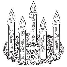 B w clipart advent wreath jpg black and white stock Free Advent Wreath Cliparts, Download Free Clip Art, Free Clip Art ... jpg black and white stock