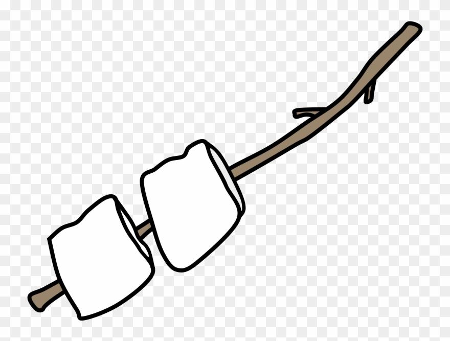 Toasting marshmellows clipart royalty free stock Roast Marshmallows - Marshmallow Clipart (#1858879) - PinClipart royalty free stock