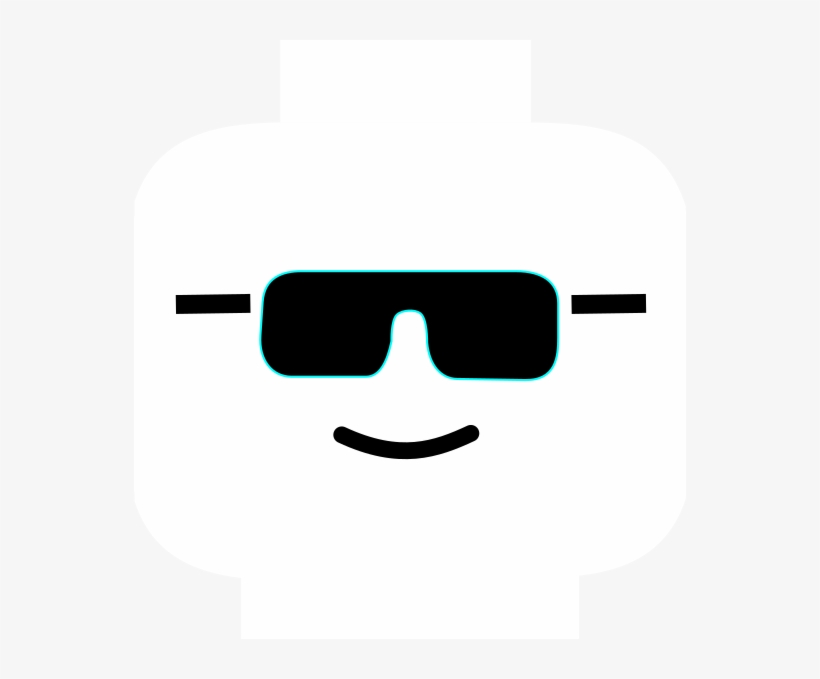 B & w sunglasses clipart picture transparent download B&w Clip Art At Clker - Lego Face Sunglasses PNG Image   Transparent ... picture transparent download