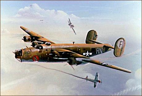 B-24 clipart clip transparent B-24J Liberator - /armed_services/airplanes/bombers/B24/B ... clip transparent