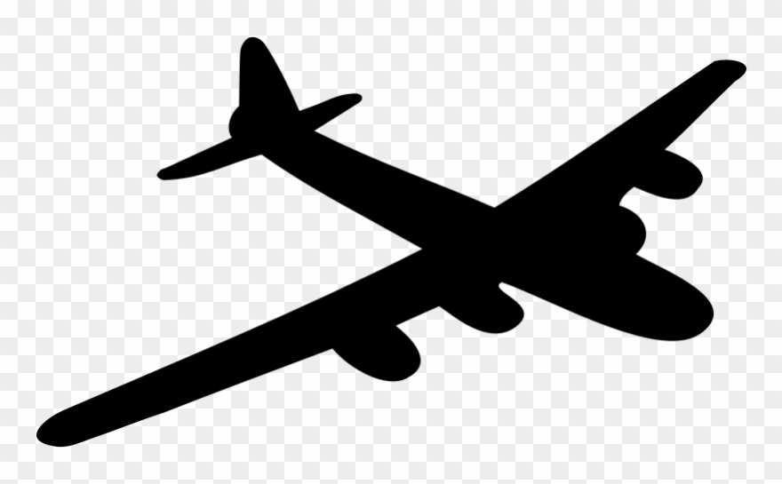 B52 bomber clipart png transparent stock B-29 Bomber Airplane Shadow - B 52 Bomber Clip Art - Png Download ... png transparent stock
