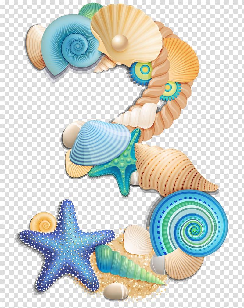 Wedding seashell clipart svg library Blue and brown seashells illustration, Wedding invitation Sea ... svg library