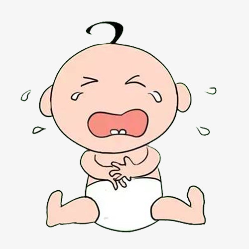 Babies crying clipart jpg free Crying Baby Drawing at PaintingValley.com | Explore collection of ... jpg free